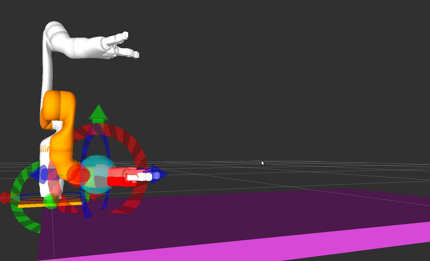 Inverse Kinematics Failure with no objects. This is really bad.